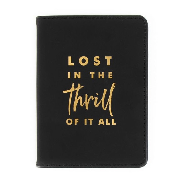 Paper Destiny Accessories - Paper Destiny Thrill Of It All Passport Cover
